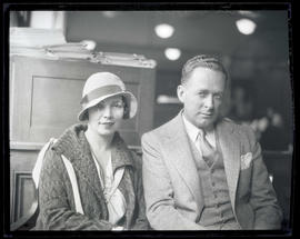 James Miller and his wife
