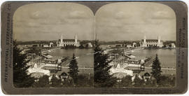 Guild's Lake and Government Buildings, Lewis and Clark Exposition