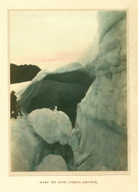 Ice Cave. Collier Glacier