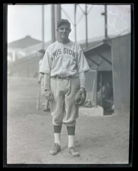 Charles Leiber, baseball player for Mission