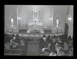 Service in Marylhurst College chapel, 1944?