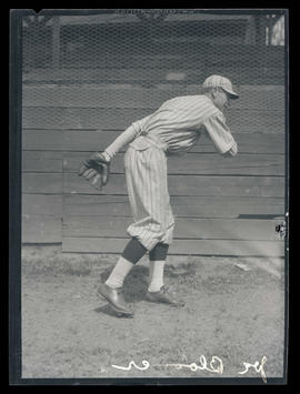 Joe Bloomer, baseball player for Portland