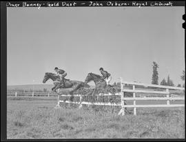 Omer Bonney and John Osburn at Portland Hunt Club spring race meet