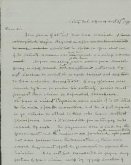 Copy of letter to L. Foley M.D.