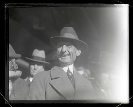 Willam Gibbs McAdoo in Portland during presidential campaign trip