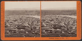 """Portland, Oregon, in 1868."" (Stereograph E2)"