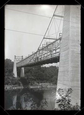 1888 Oregon City suspension bridge?