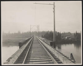 Oregon Electric Railway Bridge over Willamette River at Wilsonville, Oregon