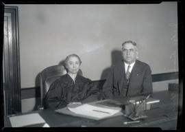 Judge Genevieve R. Cline? and Judge Walter H. Evans?