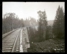 Approach to Sandy River trestle