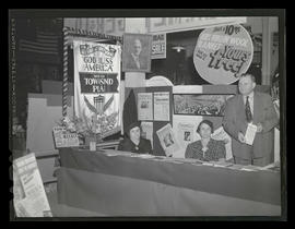 Booth promoting Townsend Plan