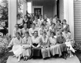 Kappa Alpha Theta Sorority, University of Oregon, Eugene, circa 1907