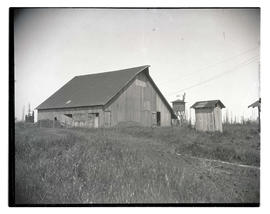 Senti family barn, site of murder