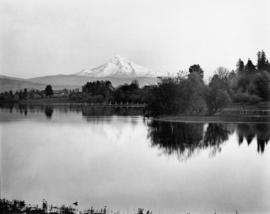 Mt. Hood from Columbia Slough