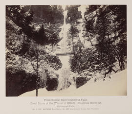 """D.125. From Rooster Rock to Oneonta Falls. Multnomah Falls."""