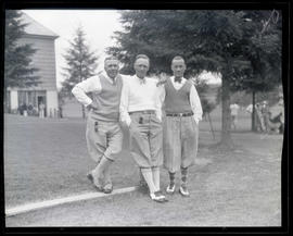 Dave Black, Pill Taylor, and Dunc Sutherland, golfers