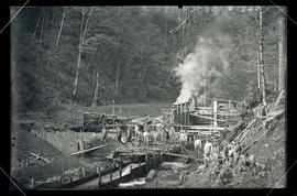 Bull Run, Little Sandy Dam construction