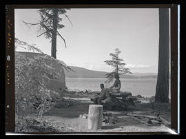 Timothy Lake, couple with trailer