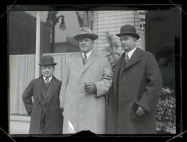 Harper Robinson and two unidentified men