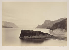 """O.24. Mitchell's Point, View Looking Up the River."""
