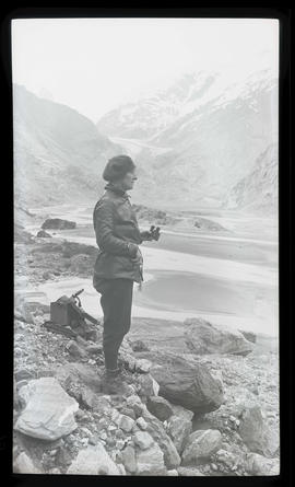 Irene Finley at Fords Terror, Alaska