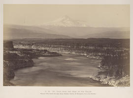 """O.39. Mt. Hood from the Head of the Dalles."""