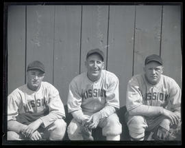 Nevers, Krause, and Morse, baseball players for Mission