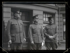 General Hunter Liggett?, General George A. White?, and Major J. G. Ord?