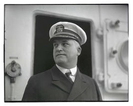 Unidentified Navy officer, head and shoulders portrait