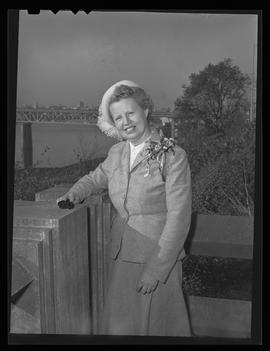 Lillian Porter Say, Washington D.C. correspondent for Oregon Journal