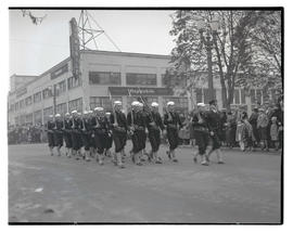 Sailors marching in parade