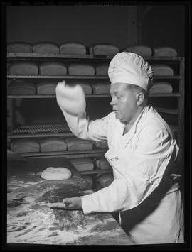 Bread making at Army Quartermaster Unit Training Center, Vancouver
