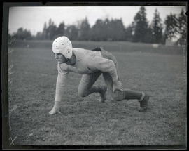 J. L. Harrington, football player