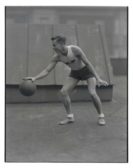 Basketball player for Multnomah Amateur Athletic Club