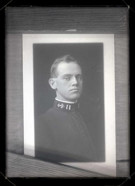 Photograph of unidentified U.S. Navy? officer