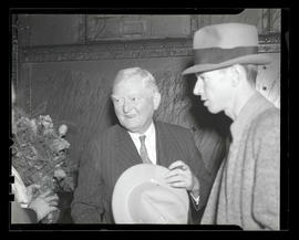 Vice President John Nance Garner at Union Station, Portland