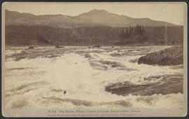 """D164. The Rapids, Upper Cascades, Columbia River Scenery, Oregon."""