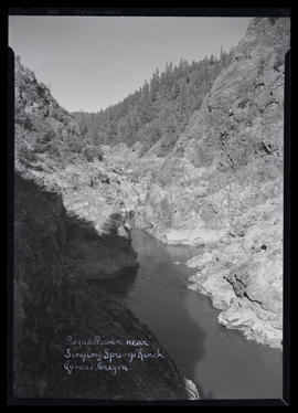 Rogue River near Singing Springs Ranch - Agness, Oregon