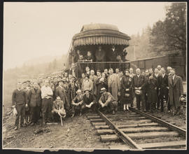 Livestock Special Arriving in Carson, Washington