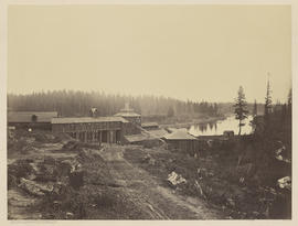 Panorama Oswego Iron Works. Oregon. (Mammoth 408)