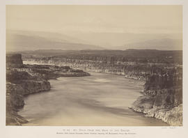 """O.40. Mt. Hood from the Head of the Dalles."""