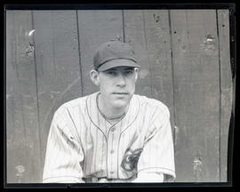 Baseball player, possibly for Sacramento