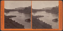 """Distant View of Castle Rock, looking west, Oregon"" (Stereograph E50)"