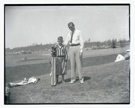 Mel Smith and Clarence Word, golfers