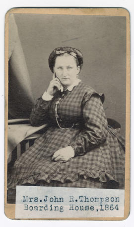 Thompson, Mrs. J. R.