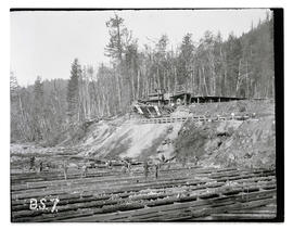 Bull Run, Big Sandy dam canal excavation