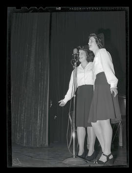 Swing-shift workers performing at Playhouse Theatre, Portland