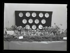 Flower display by Mrs. A. C. U. Berry of Portland