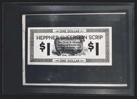 Heppner Sheepskin Scrip, front side