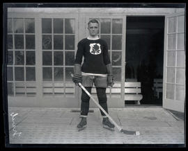 Percy Traub, hockey player for Portland Rosebuds
